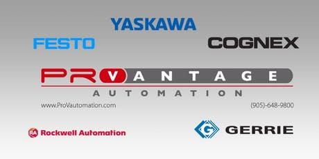 PROVANTAGE AUTOMATION PARTNER SHOWCASE tickets