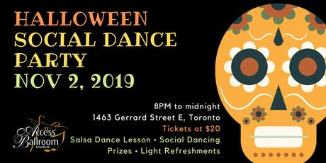 Access Ballroom - Halloween Social Dance Party 2019 tickets