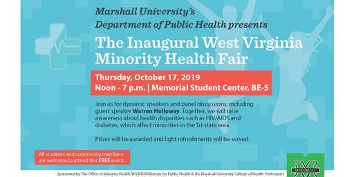 The Inaugural West Virginia Minority Health Fair