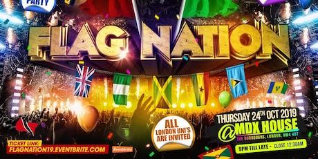 Flag Nation - London's Biggest Uni Link Up tickets