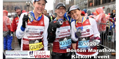Team With A Vision 2020 Boston Marathon Kickoff Party