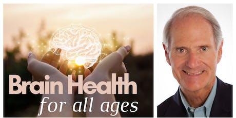 Dr. Sears Brain Health Luncheon tickets