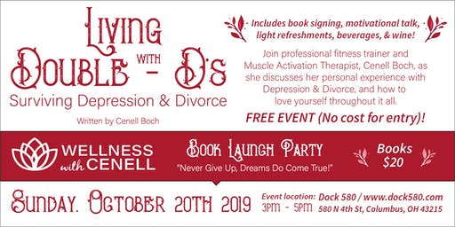 Book Launch - Living with Double DDs: Surviving Depression and Divorce
