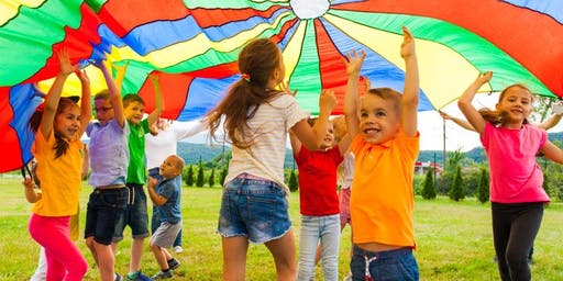 Parachute Games and Activities for Preschoolers!