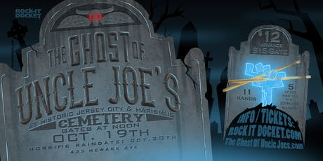 The Ghost of Uncle Joe's : Halloween Ball  tickets