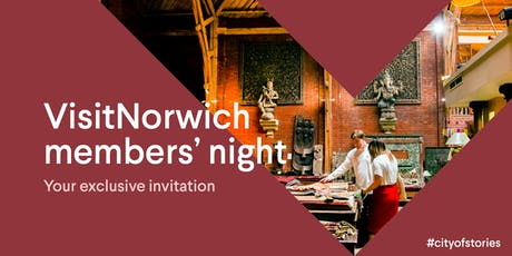 VisitNorwich members' event 2019 tickets