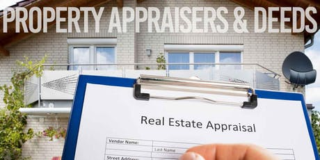 Overview on Property Appraisers & Deeds - Free Lunch & Learn tickets