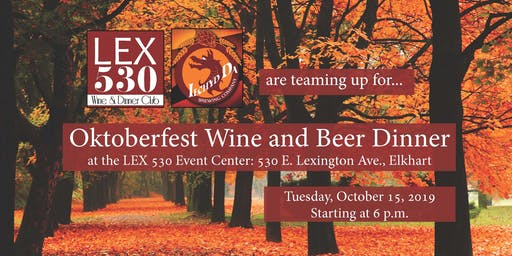 Oktoberfest Wine and Beer Dinner