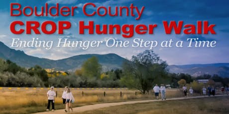 Boulder County CROP Hunger Walk tickets