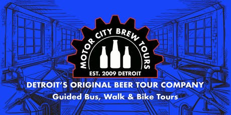Brewery Walking Tour - Detroit - November 9 tickets