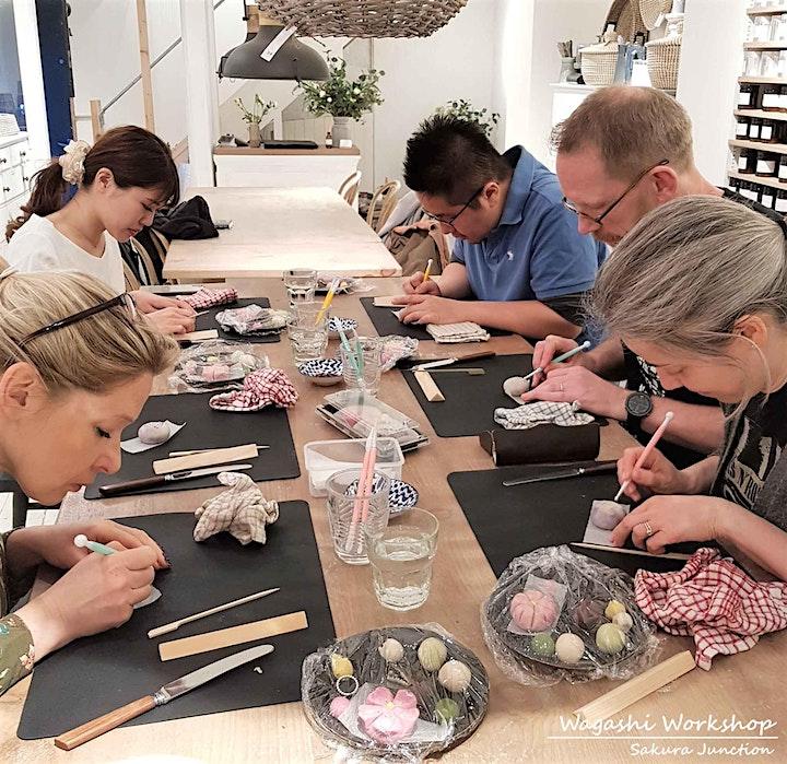 'Wagashi' Japanese Sweet Making Workshop in London image
