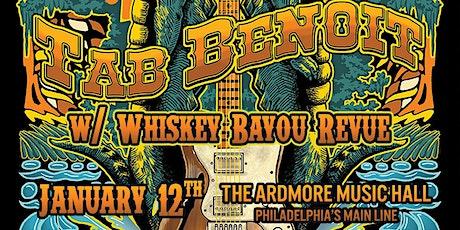 Tab Benoit w/ Whiskey Bayou Revue tickets