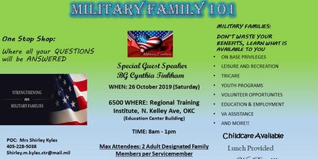 Military Family 101 tickets