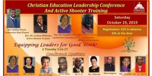 Christian Education Leadership and Active Shooter Training