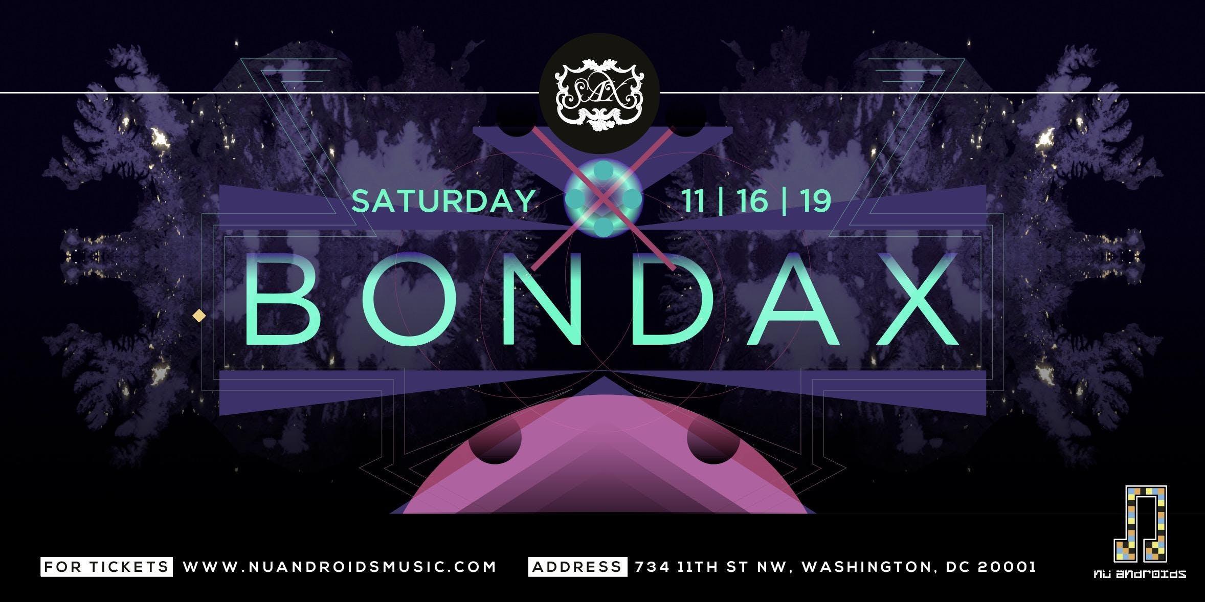 Bondax at Sax