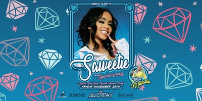 Saweetie Record Release @ Midway in SF!