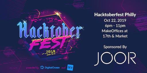 Hacktoberfest Philly 2019 sponsored by JOOR