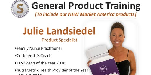General Product Training MN | Julie Landsiedel