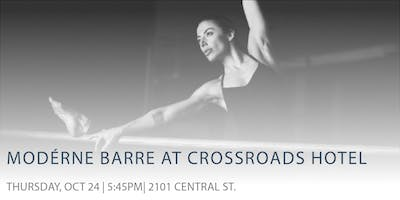 Modern Barre at the Crossroads Hotel