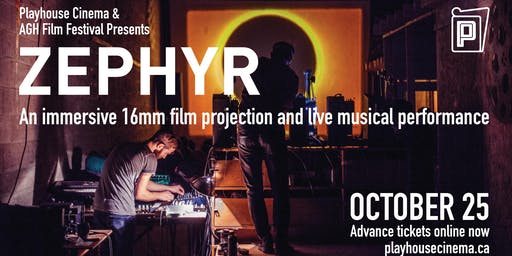 AGH Film Festival Presents: Zephyr with John Price