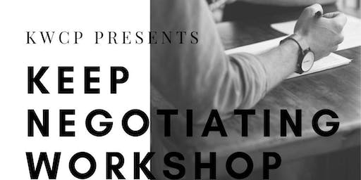 Keep Negotiating Workshop w/Elaine