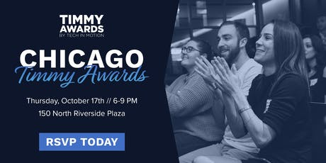 Tech in Motion Chicago's 5th Annual Timmy Awards tickets