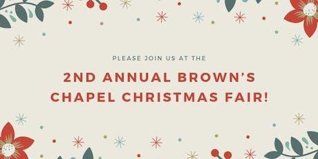 Brown's Chapel Christmas Fair! tickets