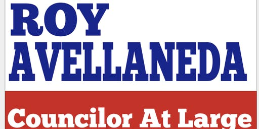 ROY AVELLANEDA 2019 CAMPAIGN KICK OFF