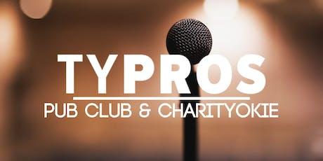 TYPROS Pub Club & CharityOkie tickets
