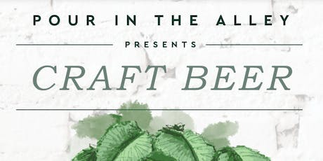 Craft Beer in the Alley tickets
