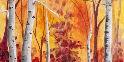 Autumn Aspens Thursday Night Paint Party