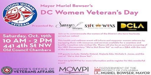 DC Women Veterans Day