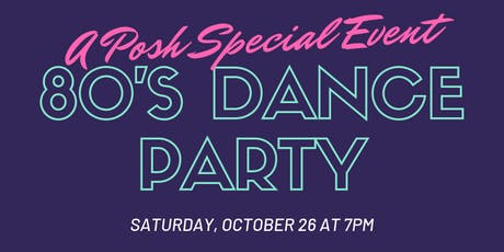 Special Event: 80s Dance Party tickets