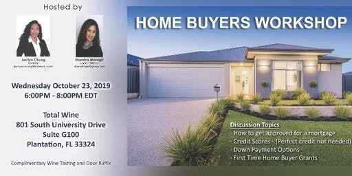 FREE Home Buying, Selling & Investing Workshop