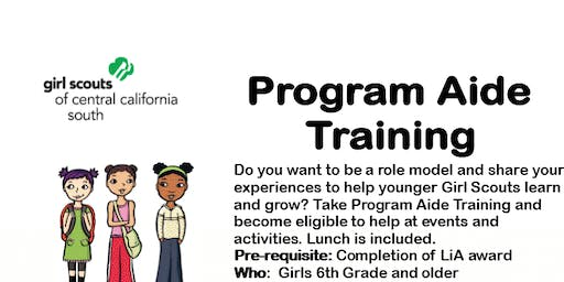 Program Aide Core Training - Fresno