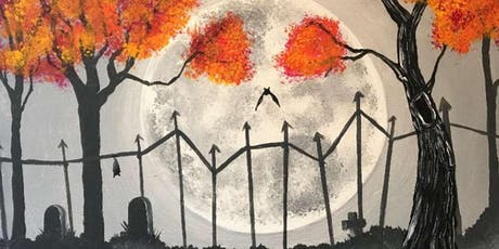 Haunted Moon Saturday Night Paint Party tickets