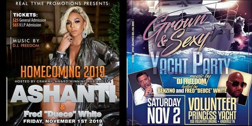 KNOXVILLE HOMECOMING  2019 hosted by ASHANTI
