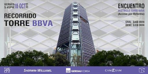 Recorrido:  Torre Bancomer -BBVA