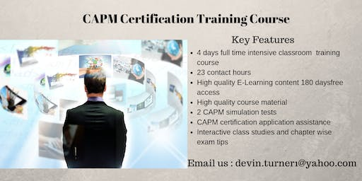 CAPM Training in Angels Camp, CA