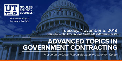 Advanced Topics in Government Contracting