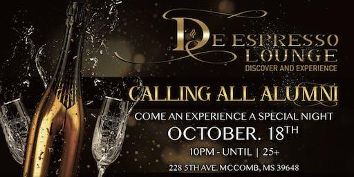 De Espresso Lounge Alumni Party