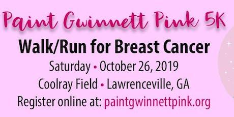 Paint Gwinnett Pink 5K Walk/Run tickets