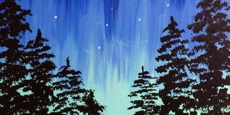 Aurora Through the Trees Saturday Afternoon Paint Party tickets