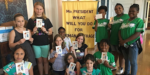 Playing the Past - Girl Scout Junior Badge Program