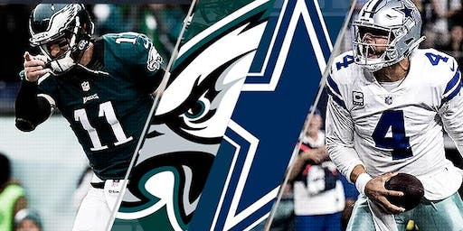 Cowboys vs Eagles Watch Party | 10.20