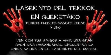 Tour Laberinto del terror en Querétaro, Ruta del vino y el queso boletos