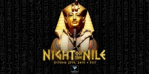 Night On The Nile Halloween at Blue Martini Brickell
