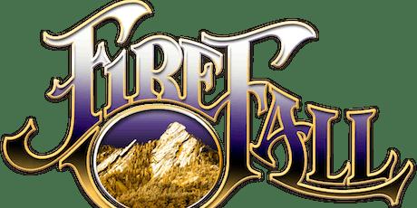 FIREFALL, PURE PRAIRIE LEAGUE & ORLEANS tickets