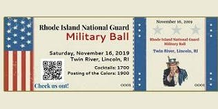 Rhode Island National Guard Military Ball Hosted by RI EANGUS