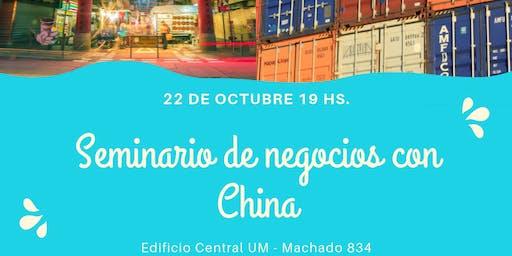 Seminario de Negocios con China